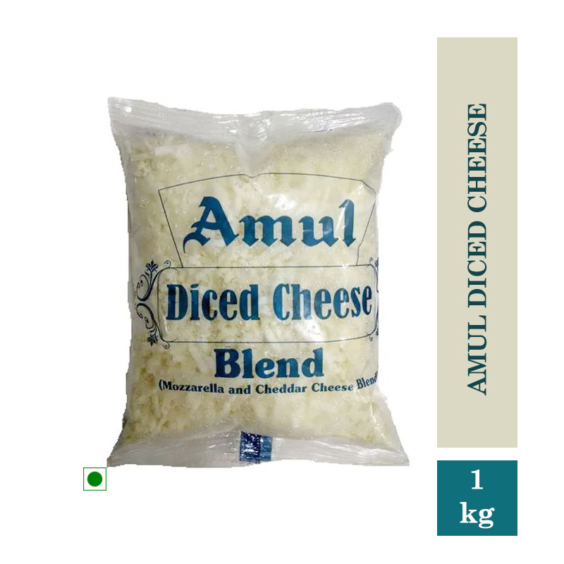 Dairy, Amul Diced Cheese - 1 Kg