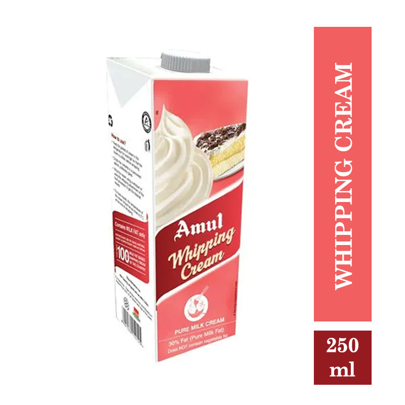 Amul Whipping Cream - 250ml