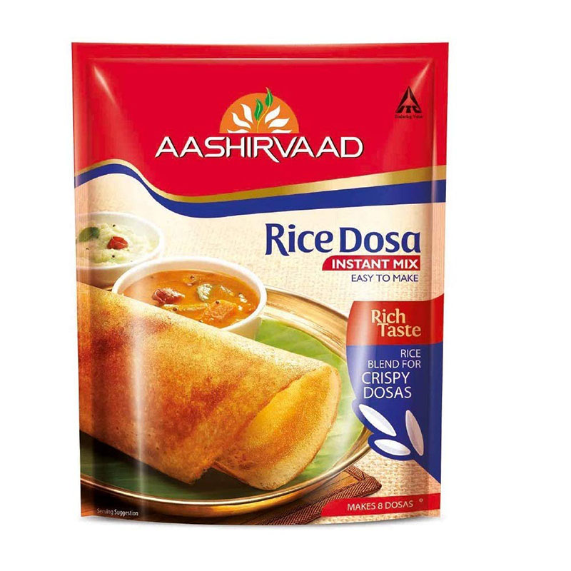 Ready to Cook & Eat, Aashirvaad Rice Dosa Instant Mix - 200gm Pouch