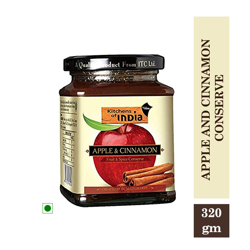 Kitchens of India Apple and Cinnamon Conserve - 320gm