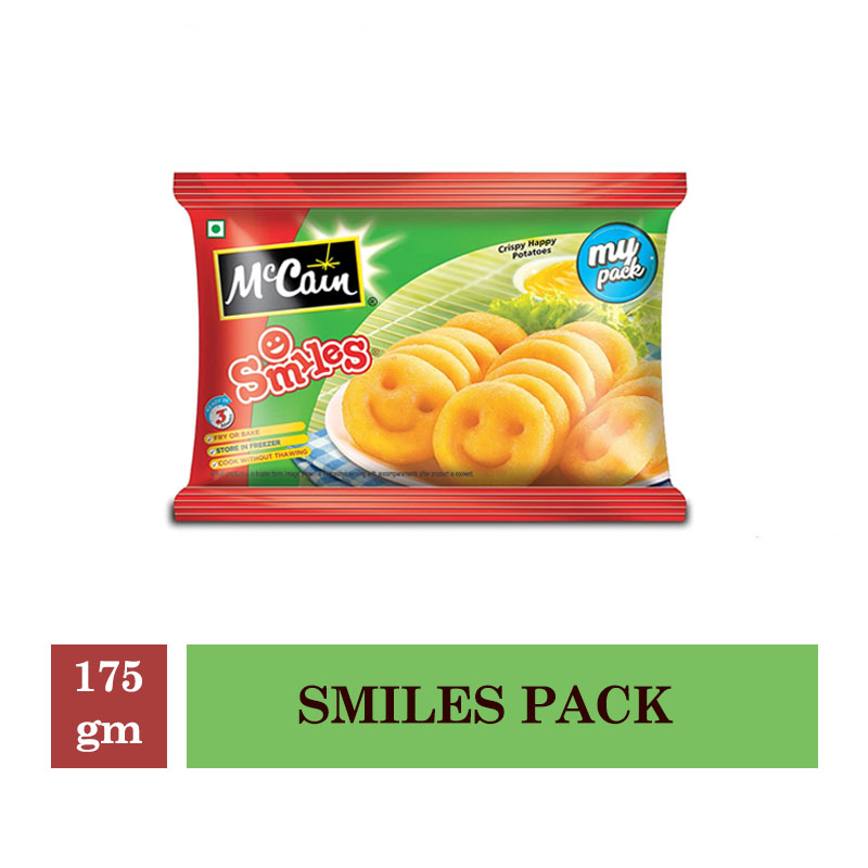 McCain Smiles Pack - 175gm