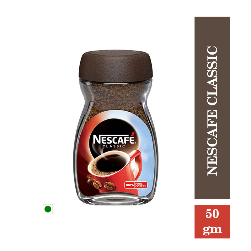 Tea/Coffee, Nescafe Classic Coffee - Dawn Jar - 50gm