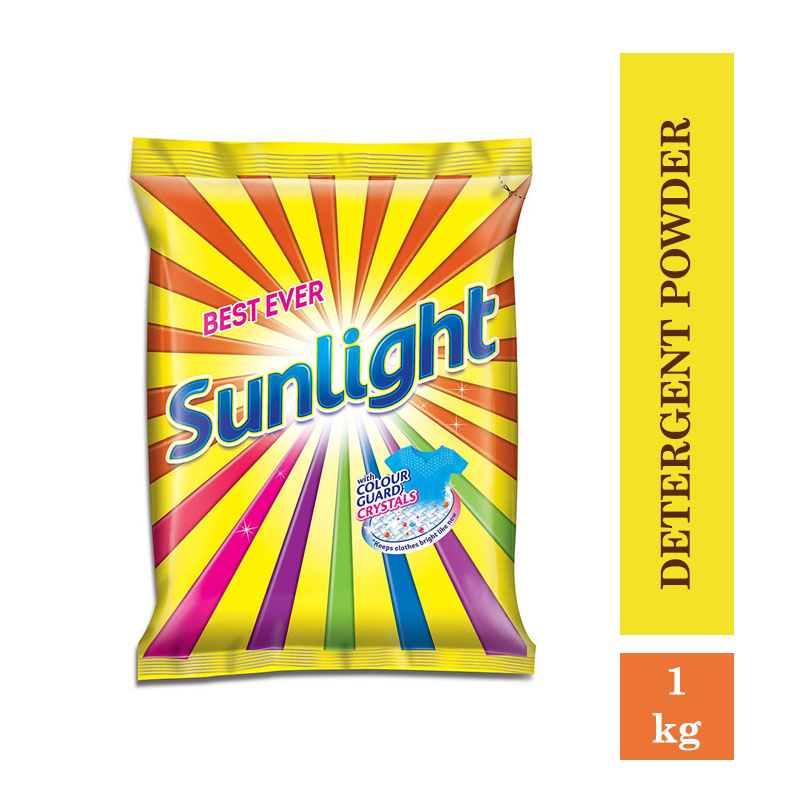 TOP Household Products, Sunlight Detergent Powder - 1Kg