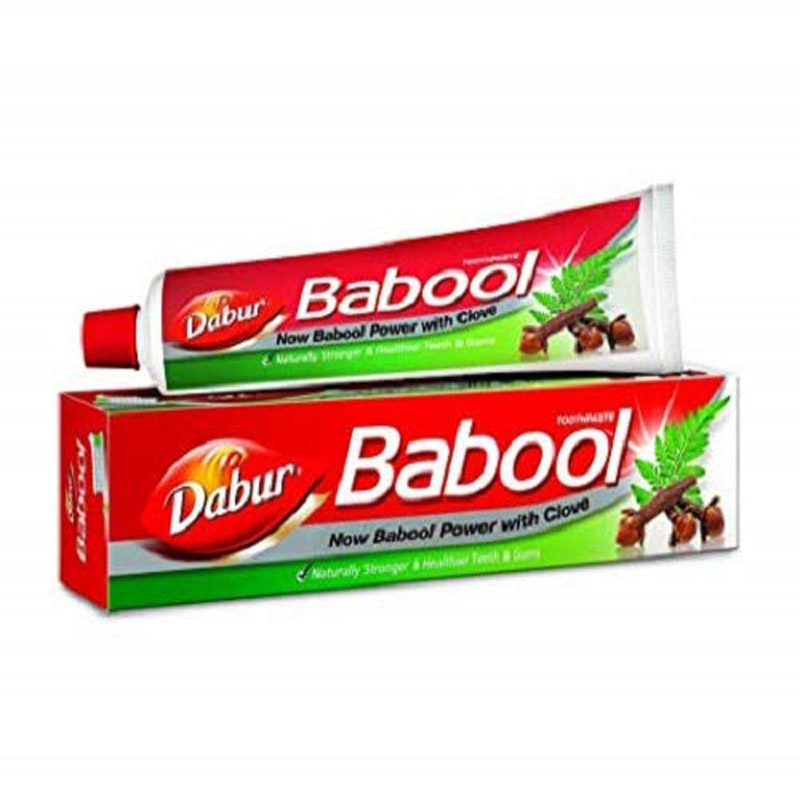 Combo Offers, Dabur Babool Toothpaste - 175Gm (Free Toothbrush)
