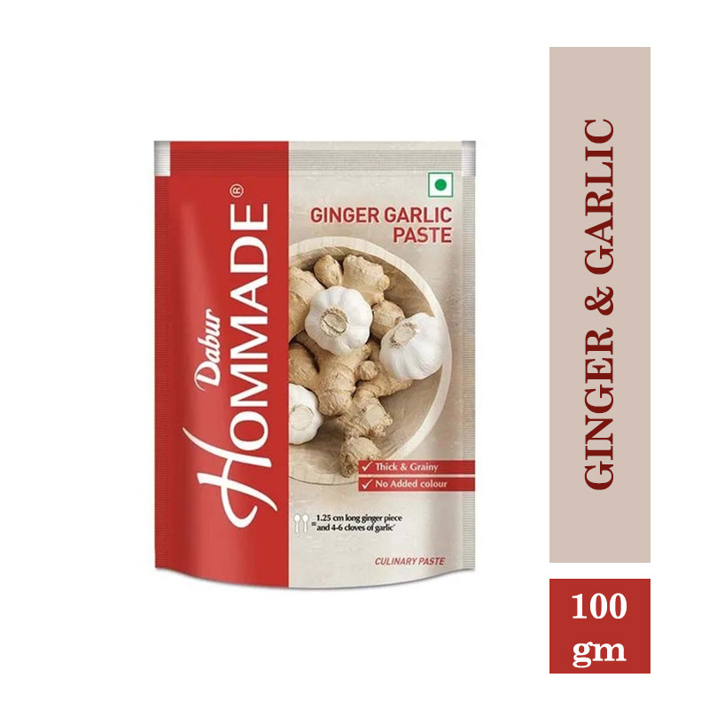 TOP Household Products, Hommade Ginger & Garlic - 100Gm
