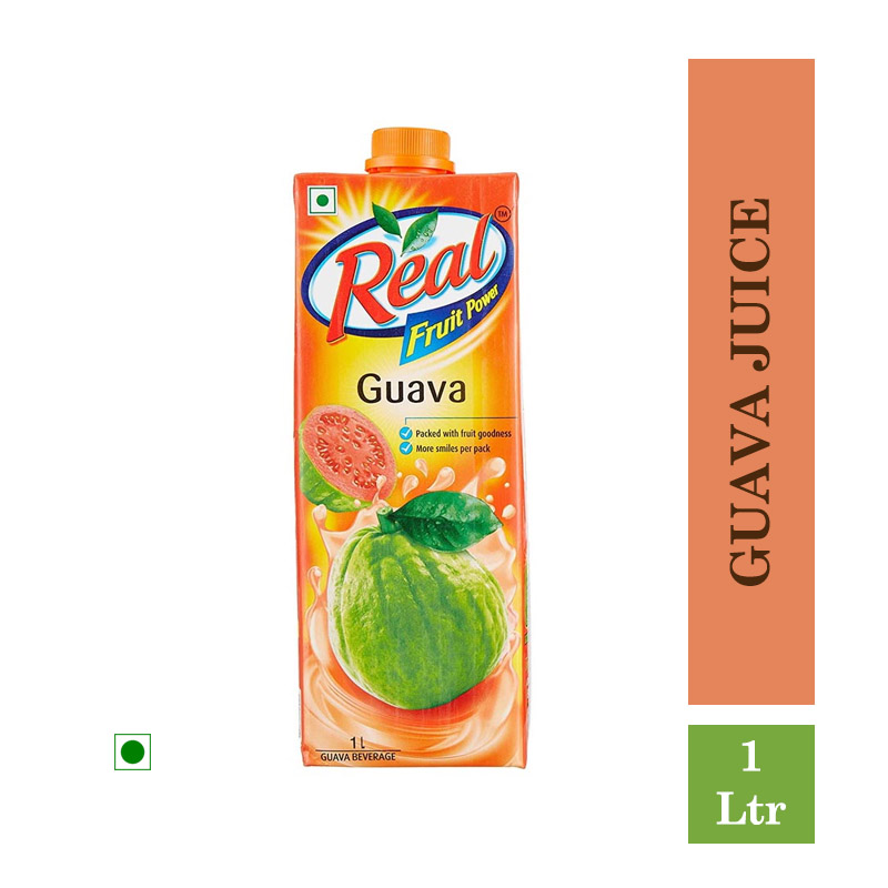 Real Fruit Power Guava Juice - 1 Ltr