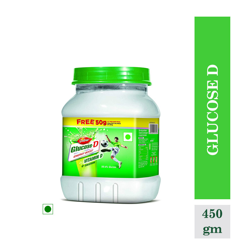 Health Drinks, Glucose D - 450Gm