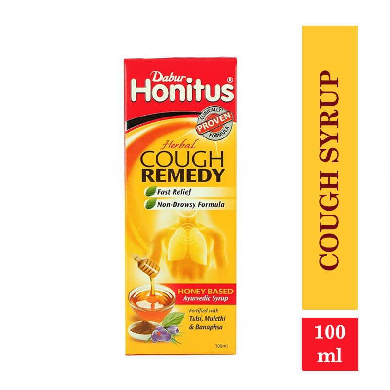 Combo Offers, Honitus Cough Remedy Syrup - 100ml (Free Hotship 4gm)