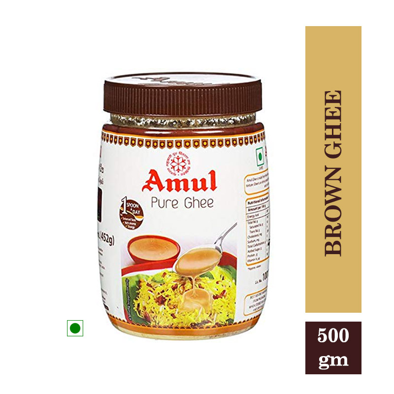 Amul Brown Ghee 500gm