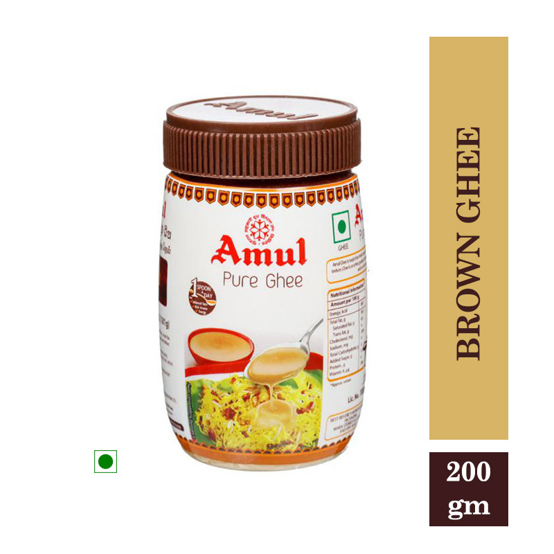 Amul Brown Ghee 200gm