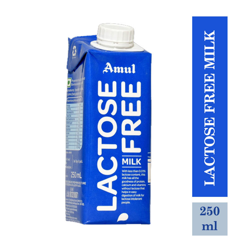 Amul Lactose Free Milk - 250ml