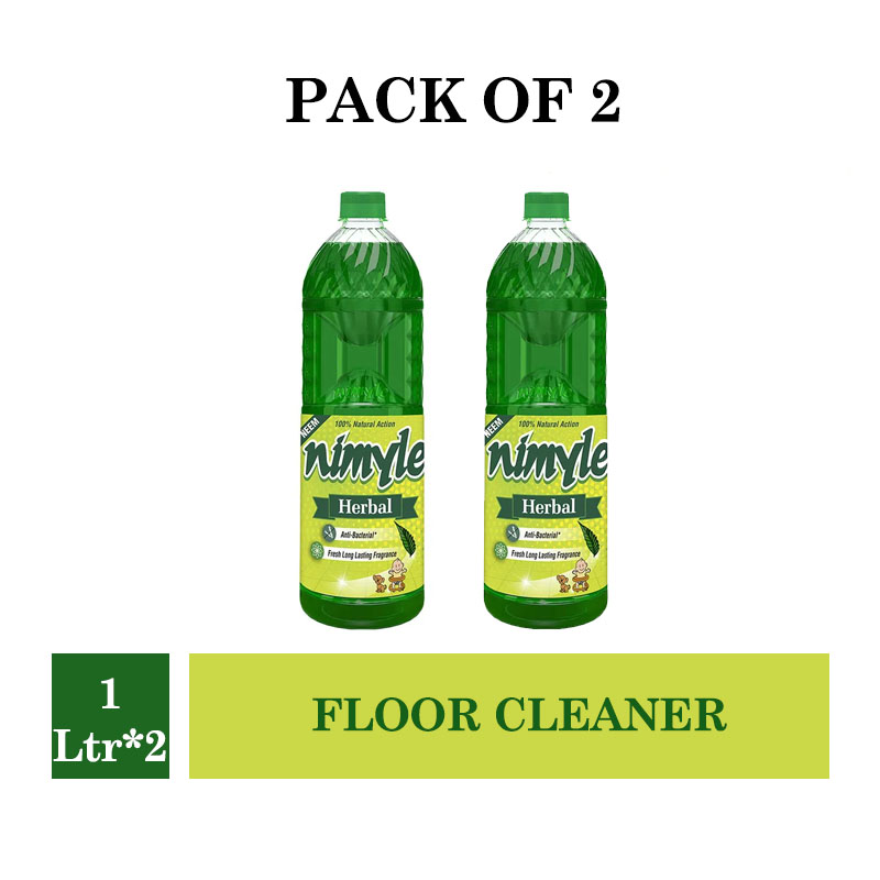 Nimyle Floor Cleaner Herbal - 1Ltr (Pack of 2)