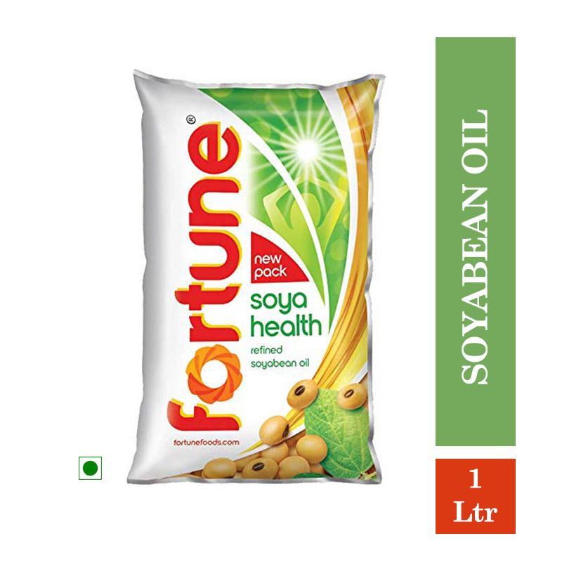 TOP Household Products, Fortune Soyabean Oil - 1Ltr Pouch