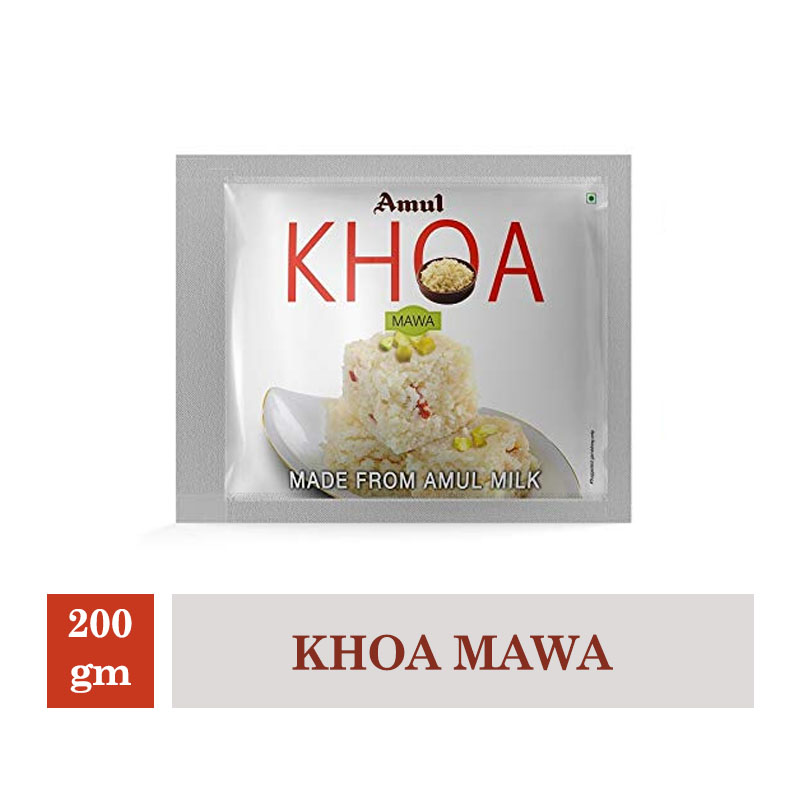 Indian Mithai, Amul Khoa Mawa - 200gm