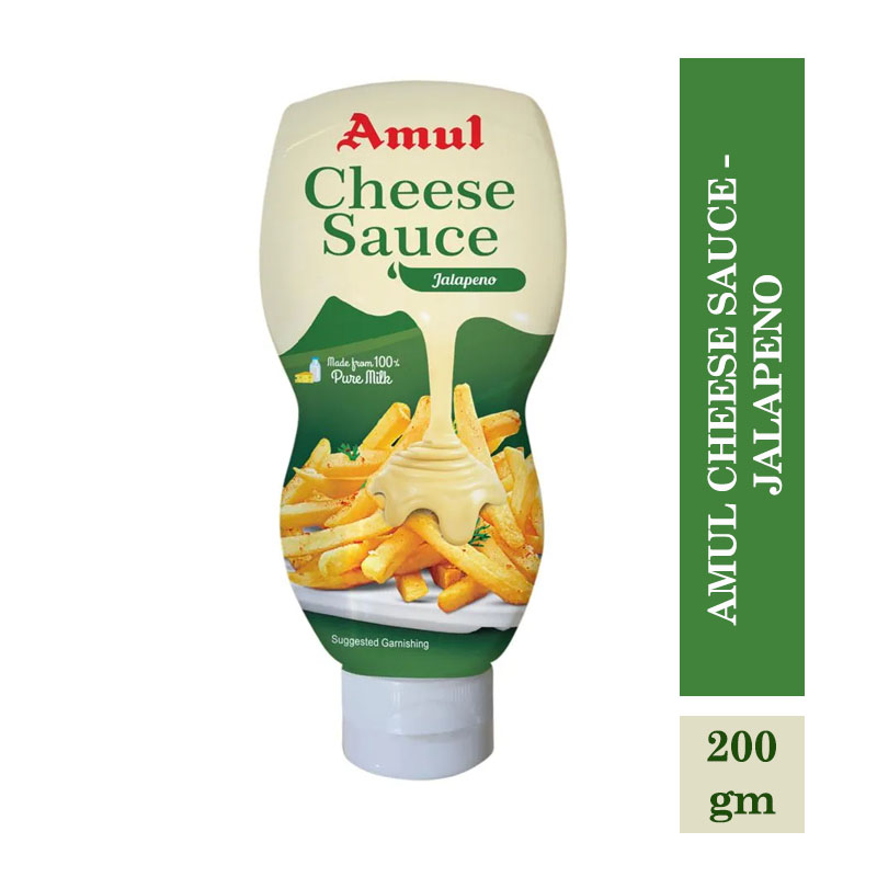 Amul Cheese Sauce - Jalapeno - 200gm