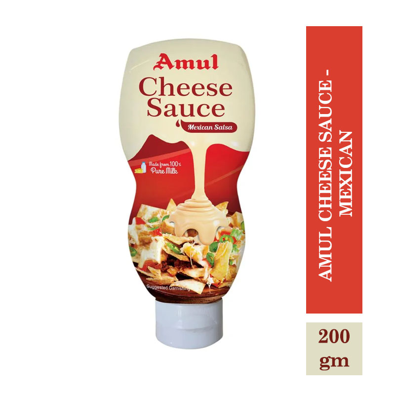 Dairy, Amul Cheese Sauce - Mexican - 200gm