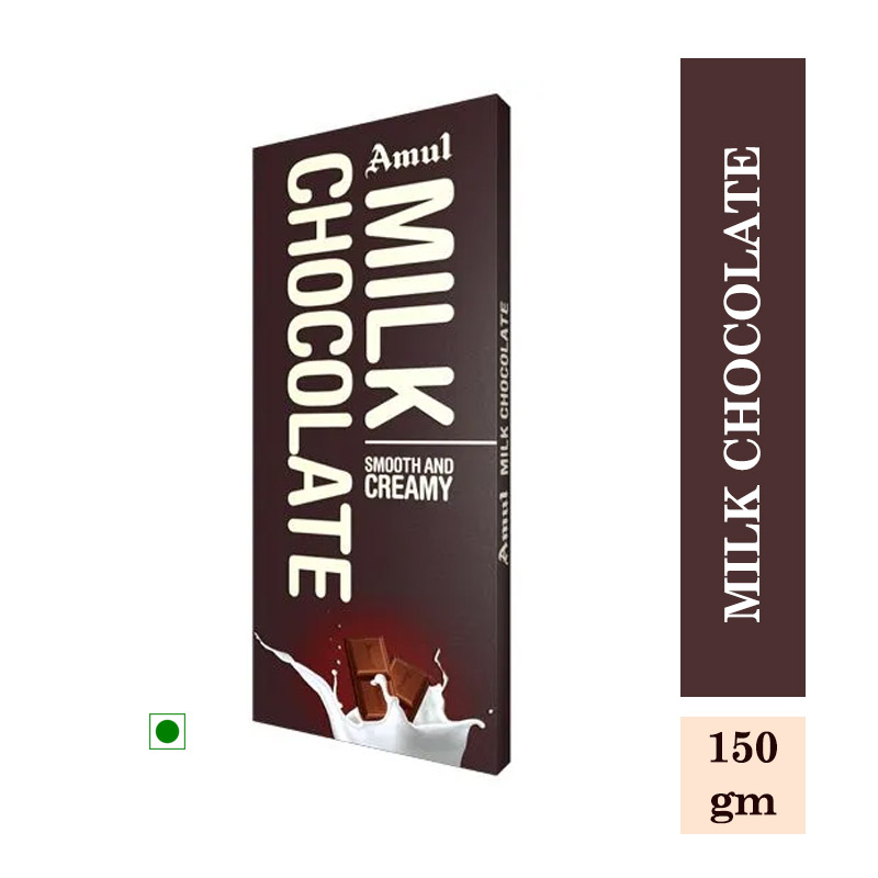 Amul Milk Chocolate - 150gm