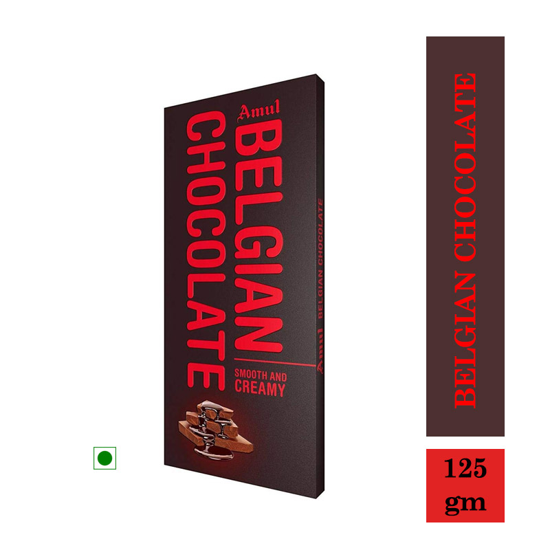 Amul Belgian Chocolate - 125gm