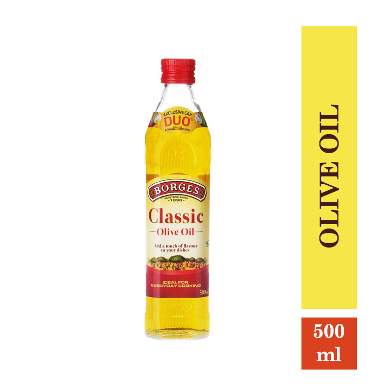 Edible Oils & Ghee, Borges Classic Olive Oil - 500ml