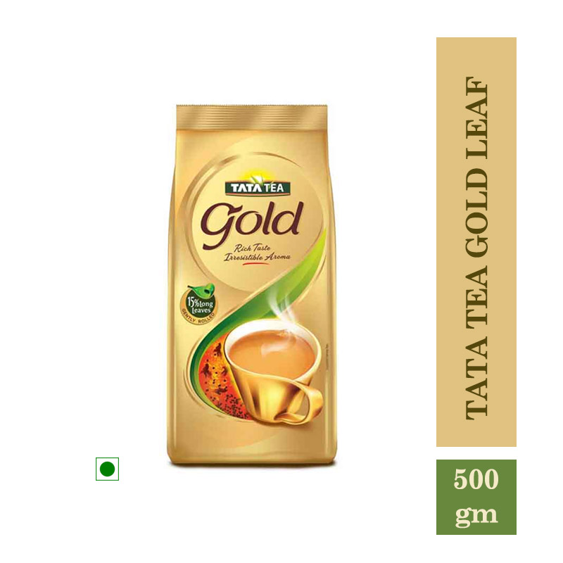 Tea/Coffee, Tata Tea Gold Leaf Pouch - 500gm