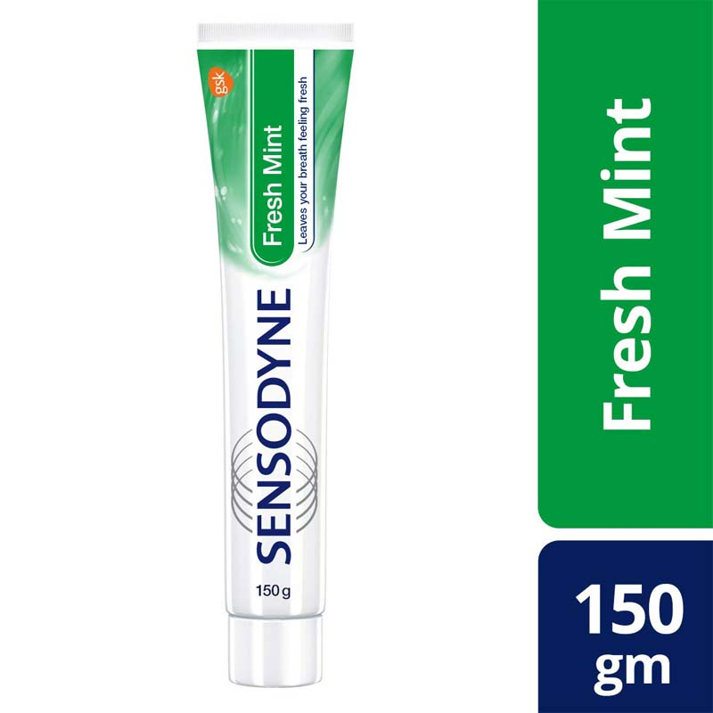 Sensodyne Sensitive Toothpaste - Fresh Mint - 150gm