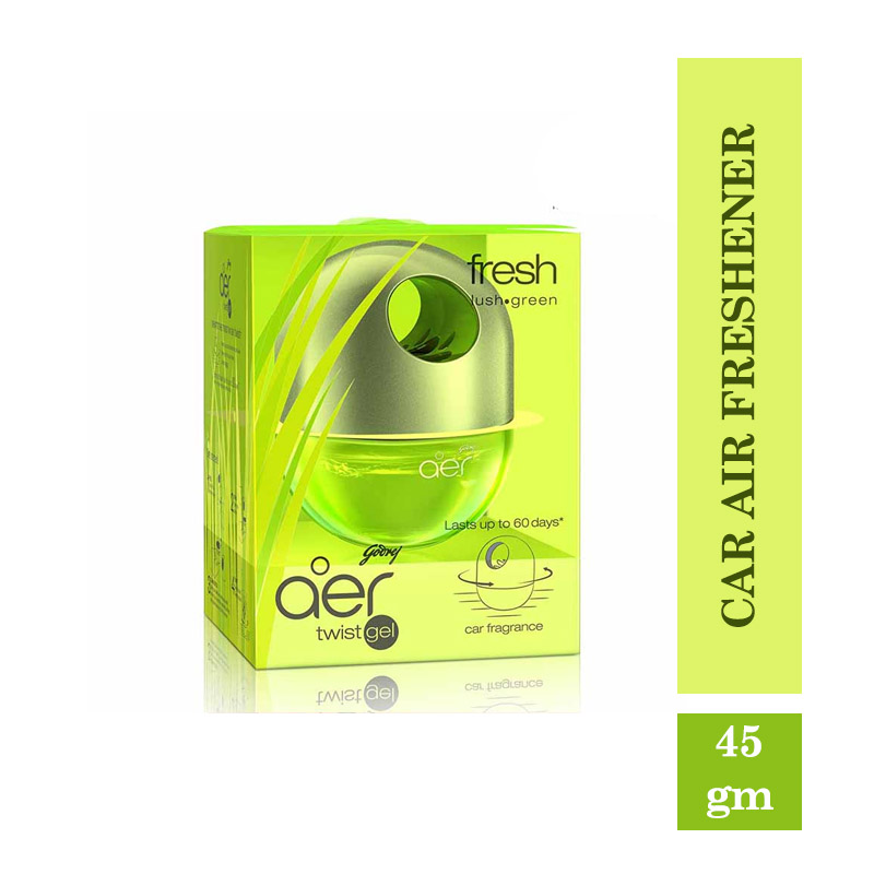 Godrej Aer Twist, Car Air Freshener - Fresh Lush Green (45gm)