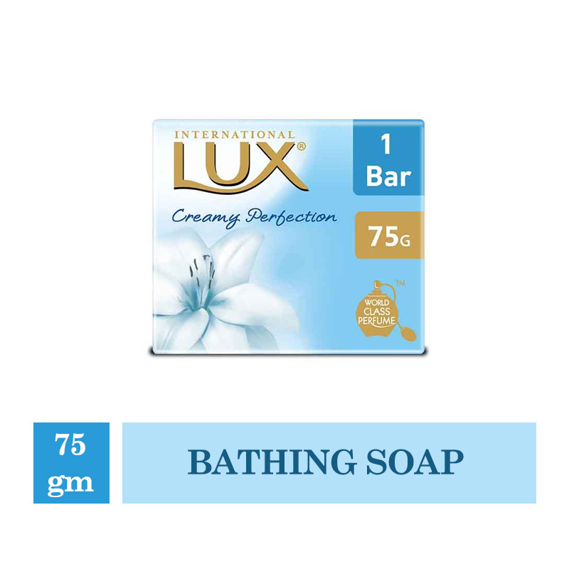 Bathing Bars & Soaps, Lux Creamy Perfection - 75gm