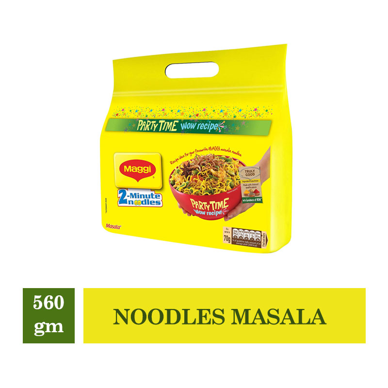 TOP Household Products, Maggi 2-Minutes Noodles Masala - 560gm