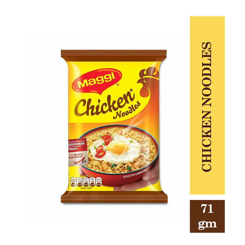 Other Brands, Maggi 2-Minutes Chicken Noodles - 71gm