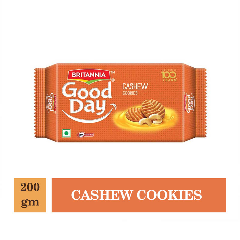Britannia Good Day Cashew Cookies - 200gm