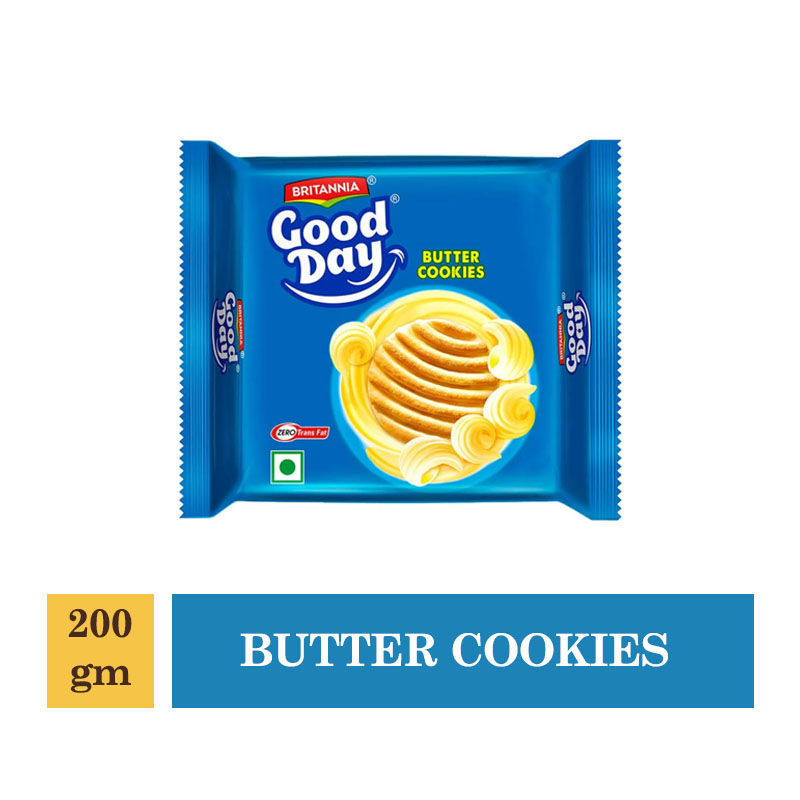 Britannia Good Day Butter Cookies - 200gm