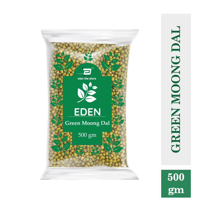 Green Moong Dal Whole Premium 500Gm