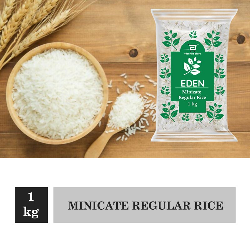 Rice & Rice Products, Eden Minicate Regular Rice 1Kg