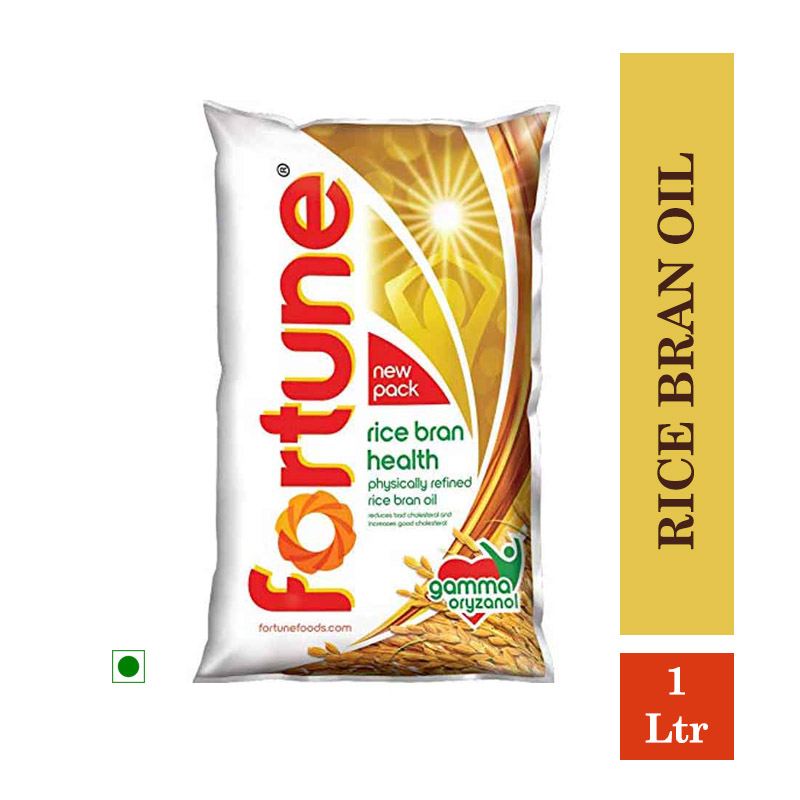 Fortune Rice Bran Oil 1Ltr Pouch
