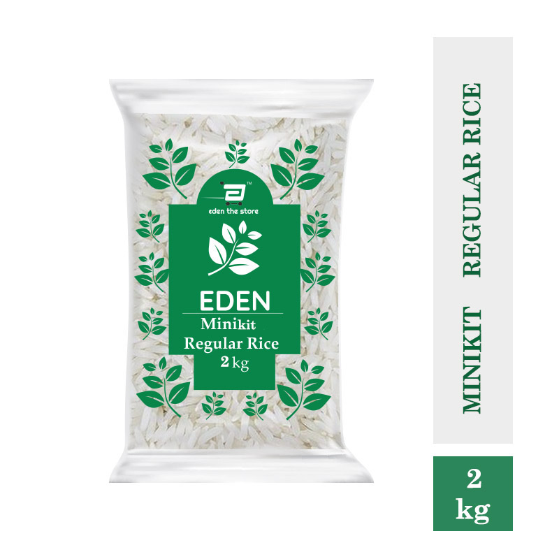 Rice & Rice Products, Eden Minicate Regular Rice 2Kg