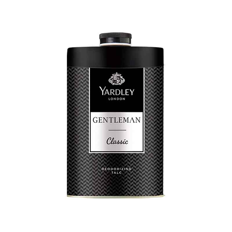 Yardley London Gentleman Classic  Deodorizing Talc For Men - 250Gm