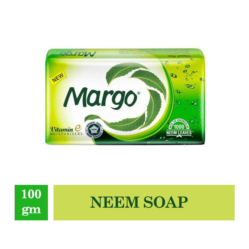 Bathing Bars & Soaps, Margo Original Neem Soap - 100Gm