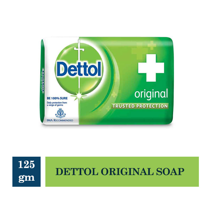 Bathing Bars & Soaps, Dettol Original Soap - 125Gm