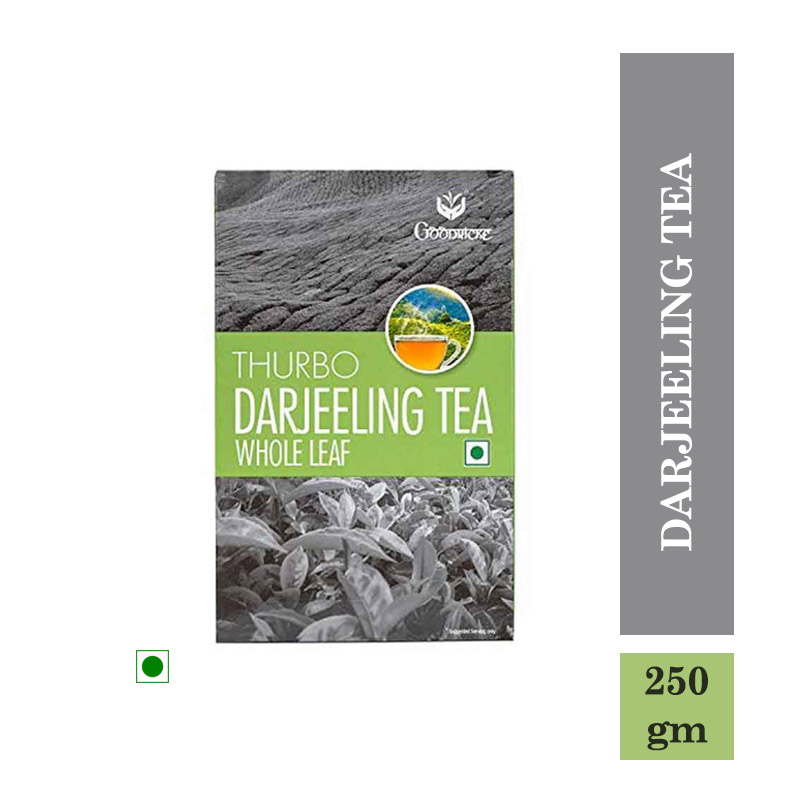 Tea/Coffee, Goodricke Thurbo Darjeeling Tea Whole Leaf - 250Gm
