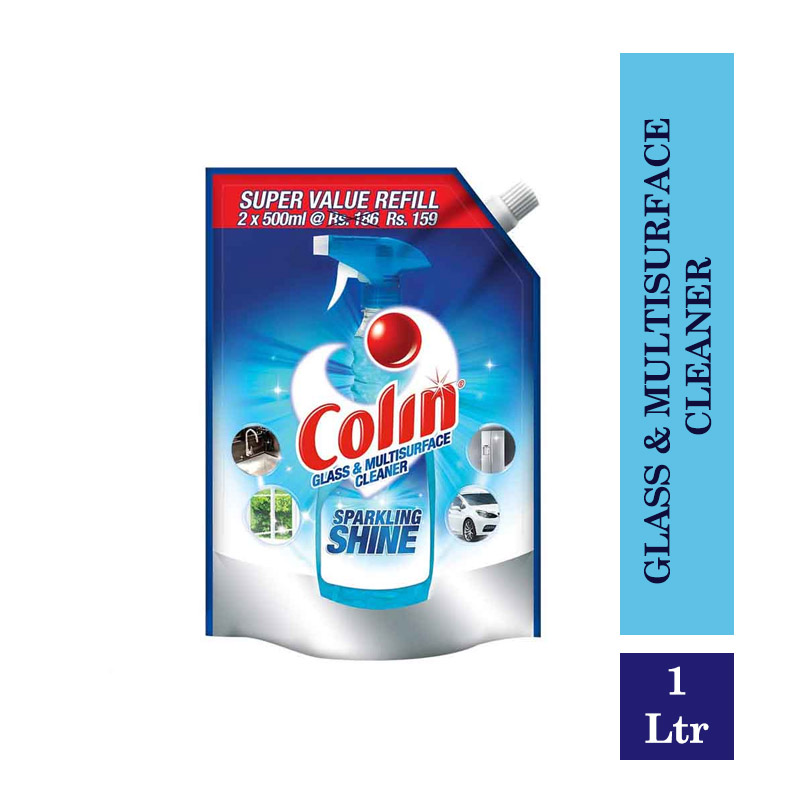 Colin Glass & Multisurface Cleaner Pouch - 1Ltr