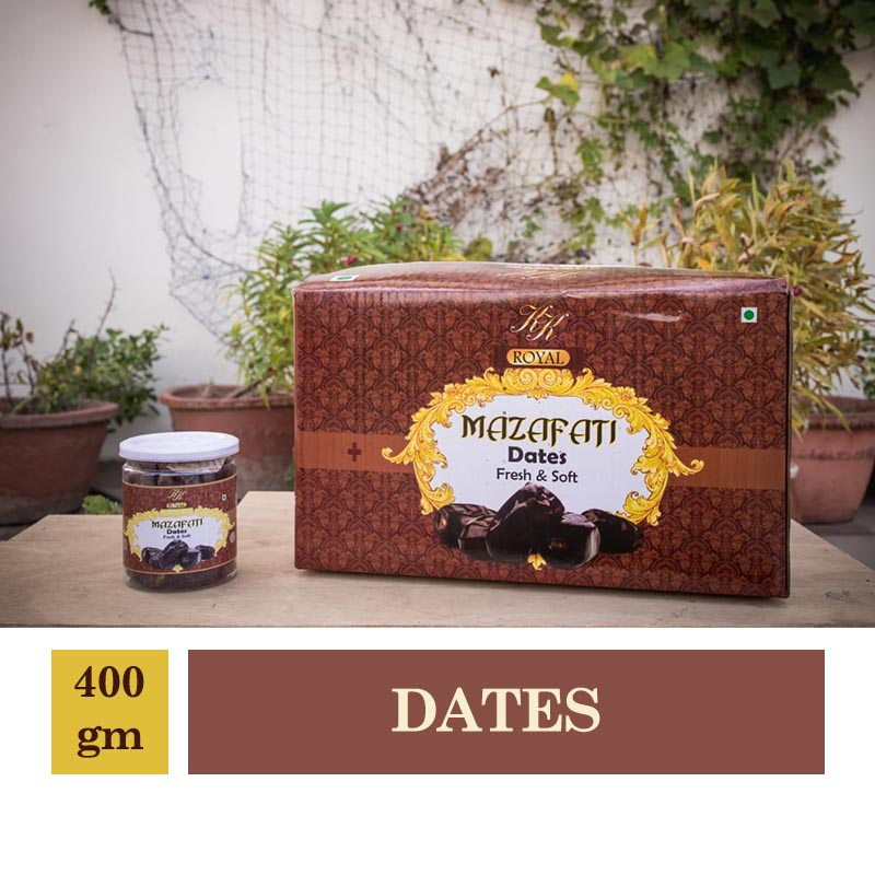 Royal Mazafati Dates Fresh & Soft 400gm