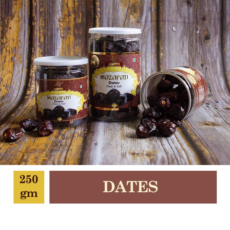 Royal Mazafati Dates Fresh & Soft 250gm