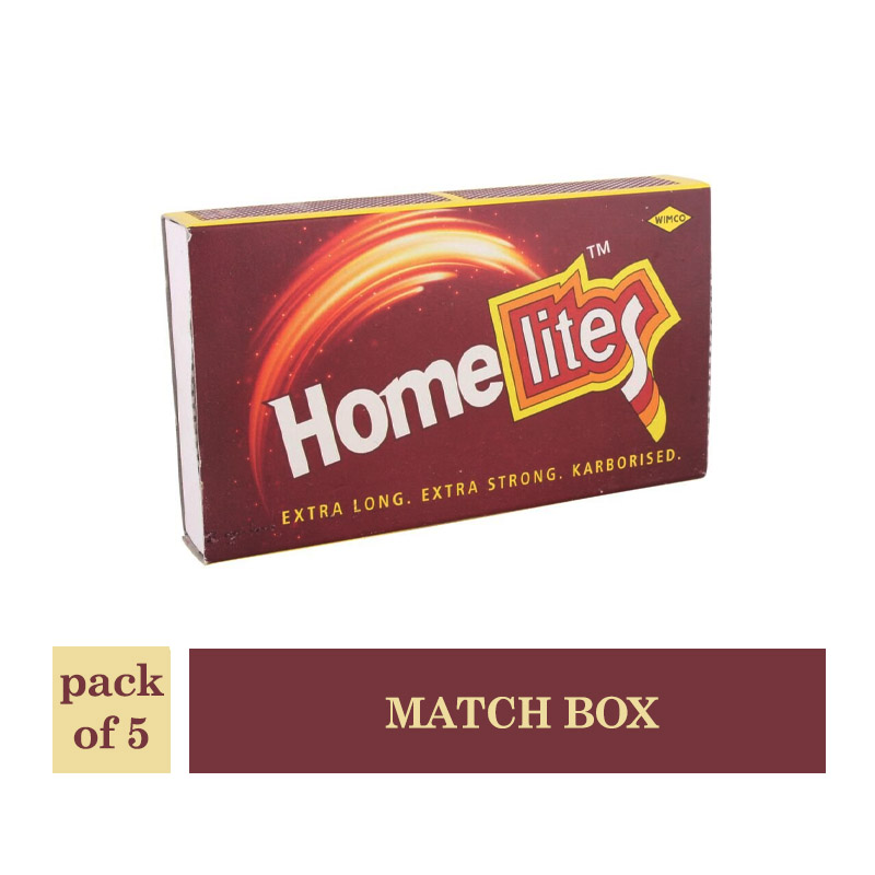 Home Light Match Box (Pack of 5Pcs)