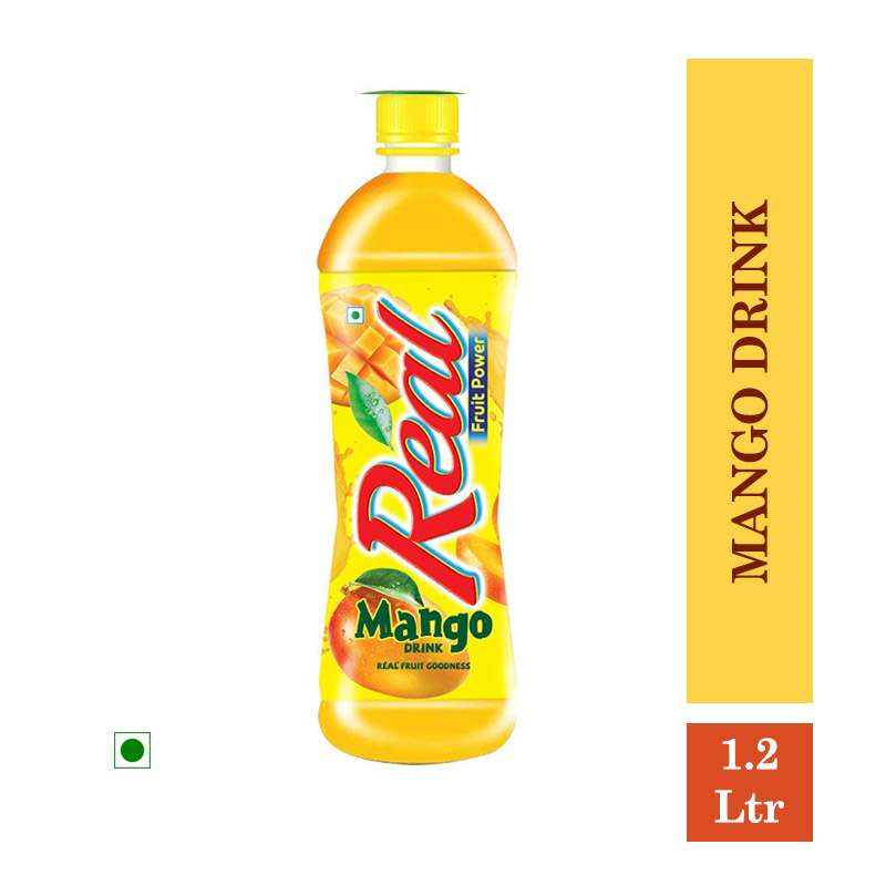 Juices, Real Fruit Power Mango Drink - 1.2 Ltr