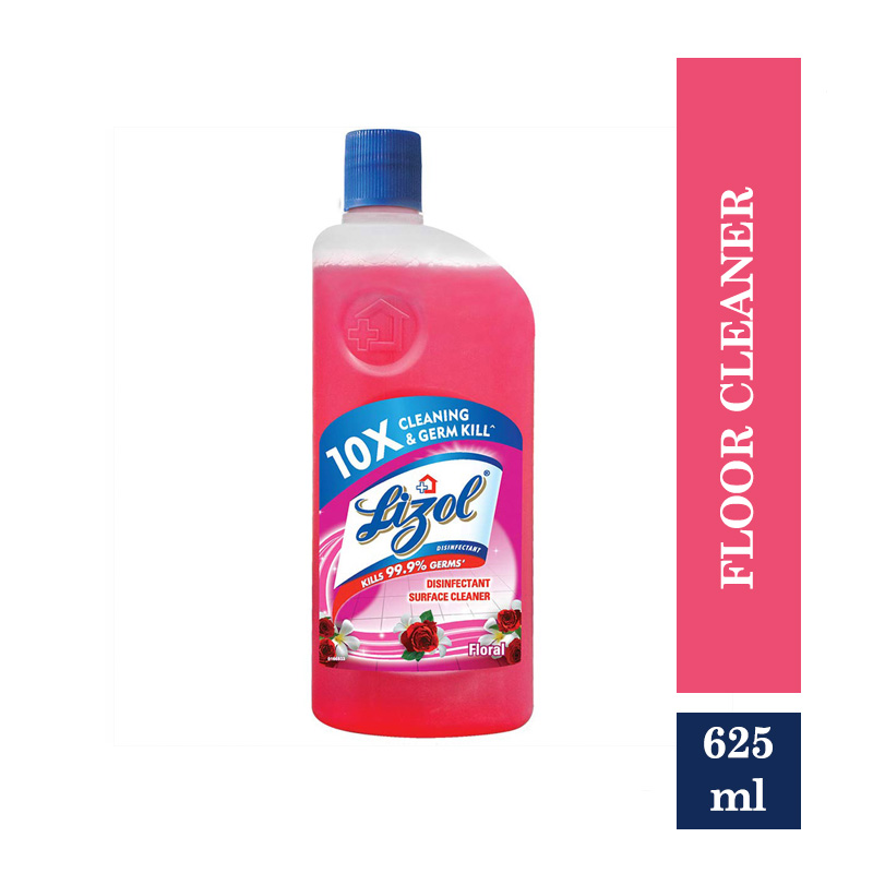All Purpose Cleaners, Lizol Floral Disinfectant Floor Cleaner (625ml)