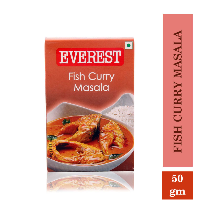 Masala & Spices, Everest Fish Curry Masala - 50gms