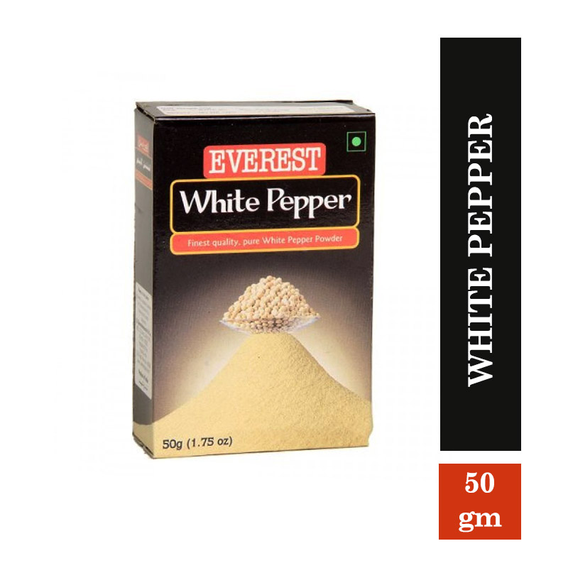 Everest White Pepper - 50gms