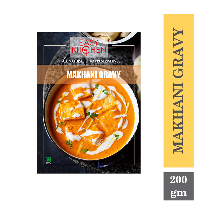 Ready to Cook & Eat, Easy Kitchen Makhani Gravy - 200gm
