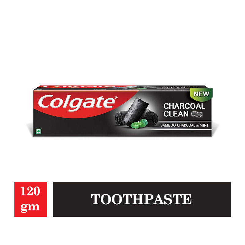 Colgate Total Charcoal-Deep Clean Toothpaste -120gm