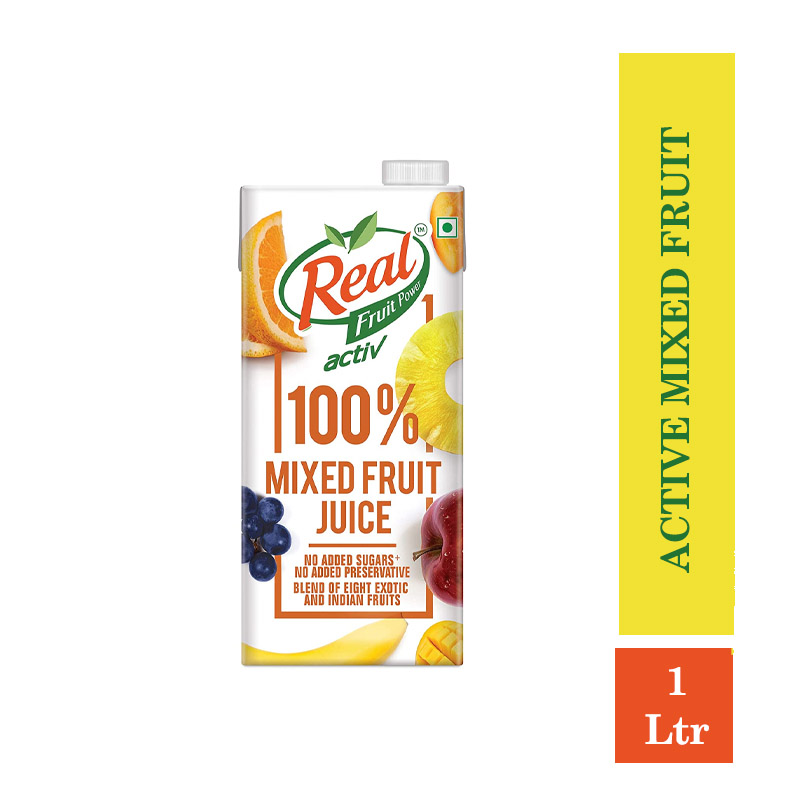 Real Fruit Power Active Mixed Fruit - 1ltr